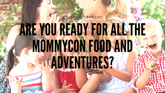 moms getting excited for mommycon